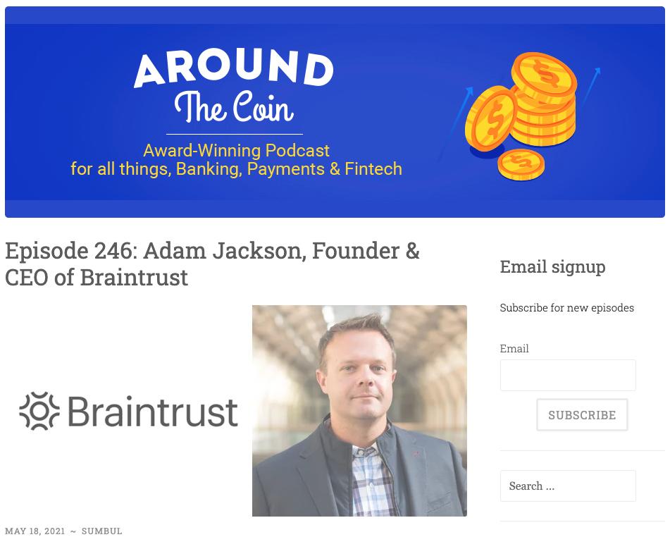 Braintrust All Hands May 20 2021 Adam on Around the Coin