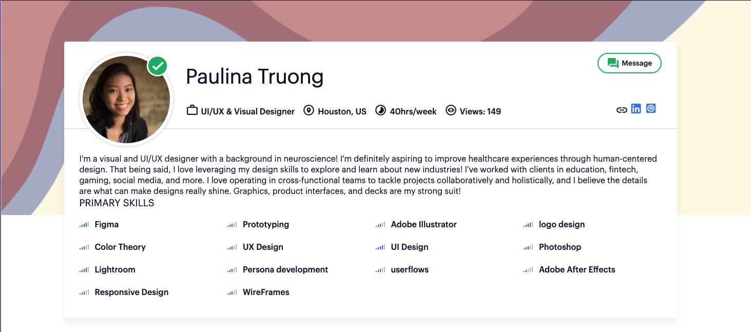 Braintrust Growth Report June 17 Talent Feature Paulina Truonghttps://app.usebraintrust.com/talent/1144/