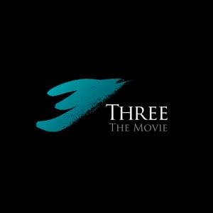 Sergio-Analco-Braintrust-Designer-3-Three The Movie logo-Aqua_black Background-01