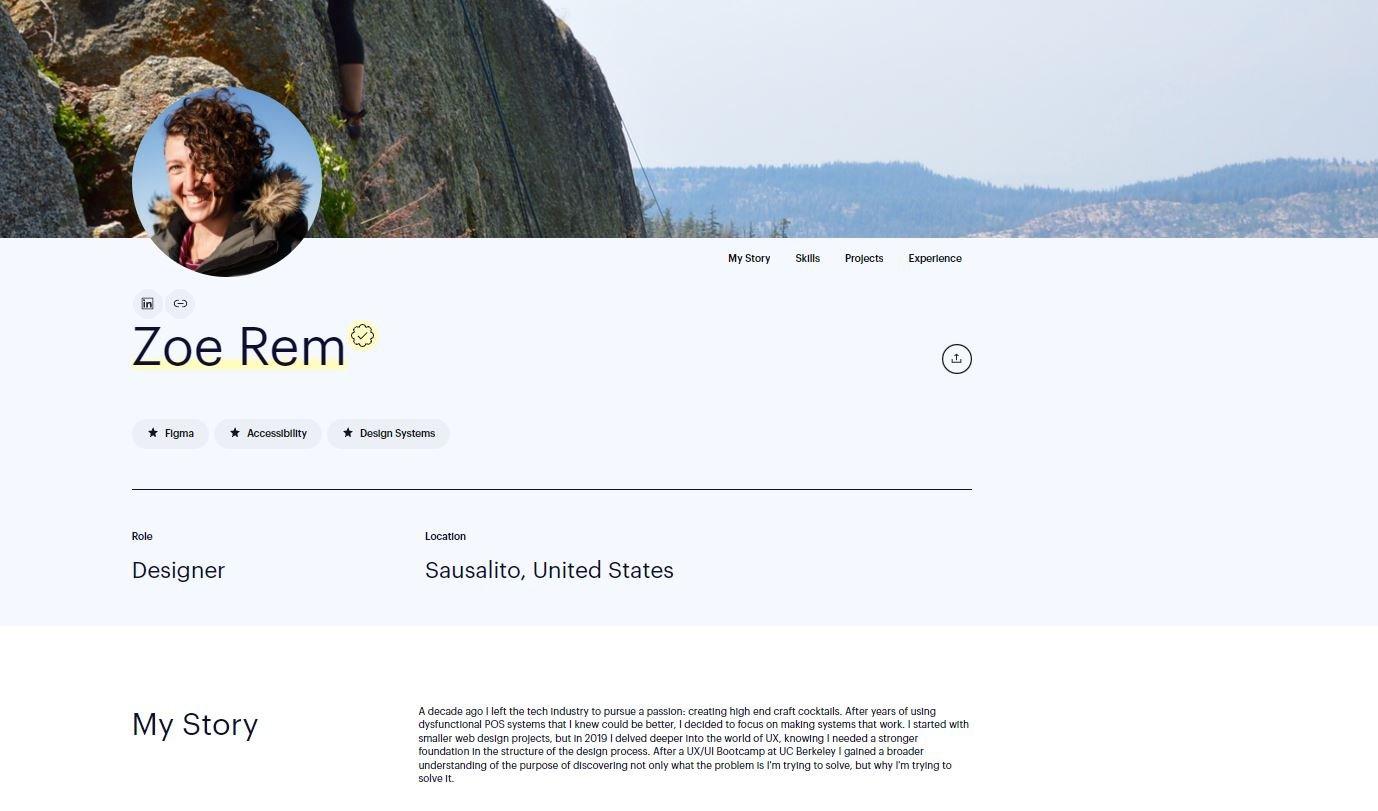 Zoe Rem, Designer, Braintrust Talent