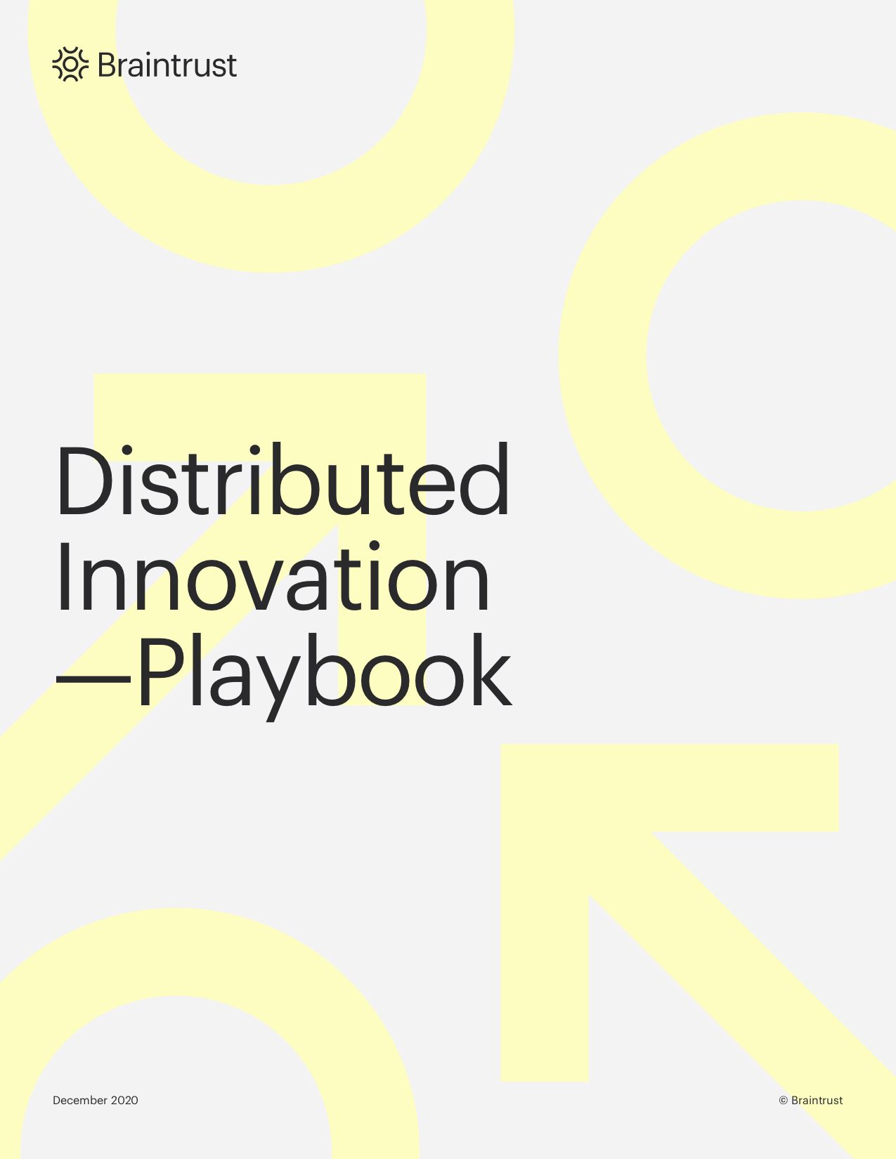 Distributed Innovation COVER