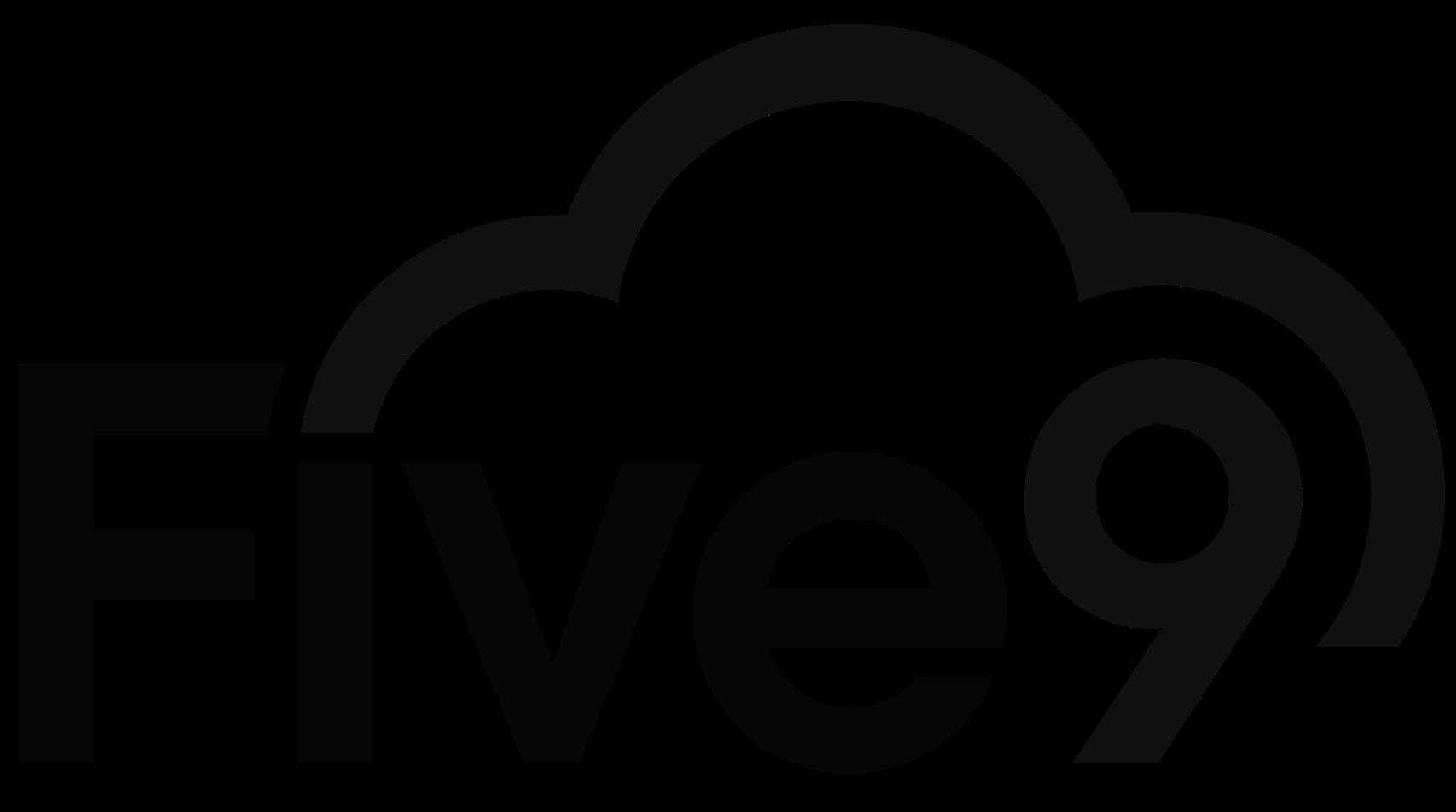 Five9 black logo 1