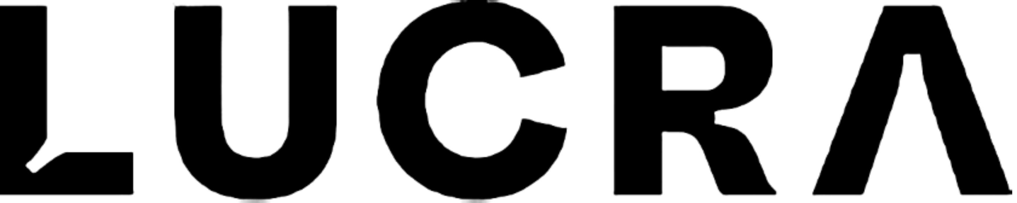 Lucra logo black